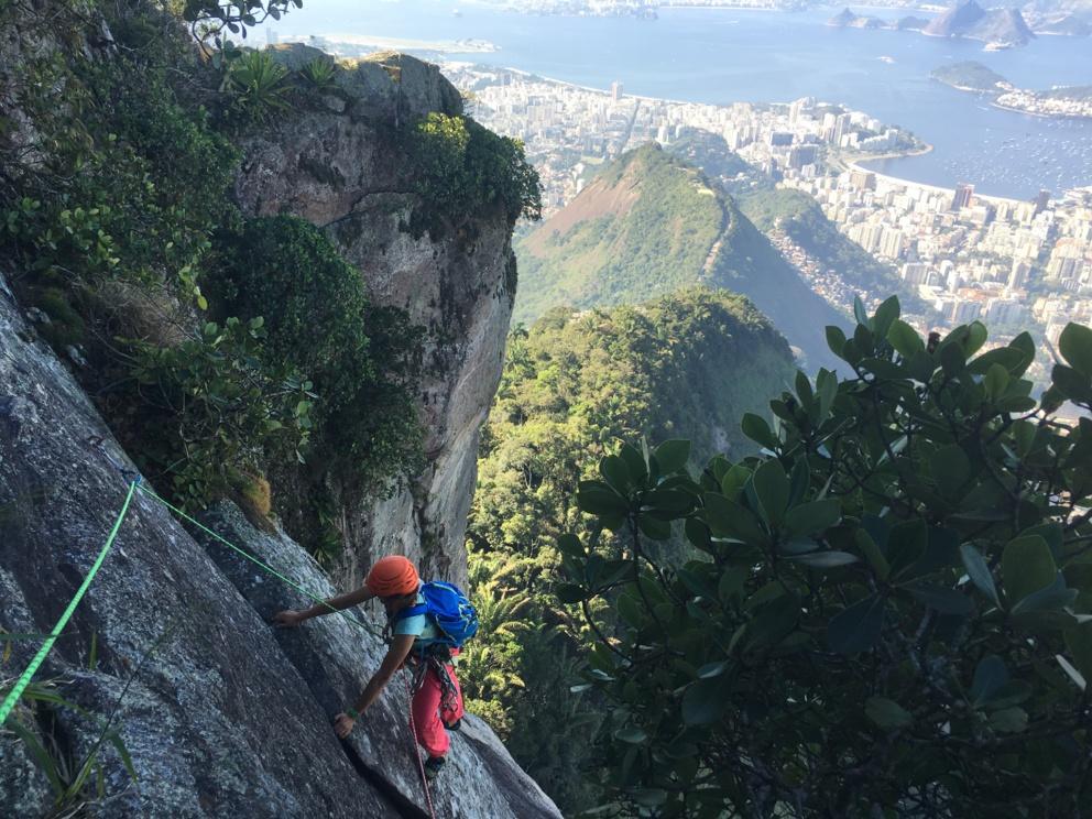 Escalade au Brésil